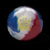 Bowlingbal Brunswick Twist Red/White/Blue_