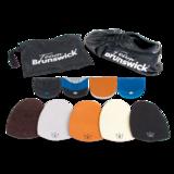 Bowlingschoen Brunswick Team Black Left_