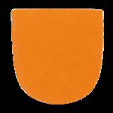 Schoenzolen Brunswick (Slide 7) Leather Heel Orange_
