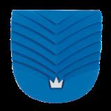 Schoenzolen Brunswick (Slide 2) Ridge Heel Blue_