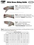 Positioner Storm Universal Wrist Brace_
