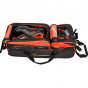 Bowlingtas Hammer Premium Triple Tote With Removable Pouch Black-Orange_