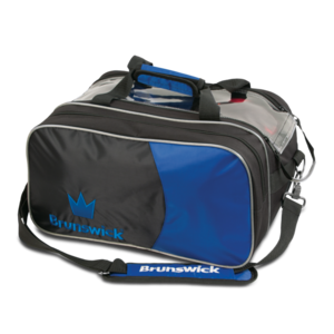 Bowlingtas Brunswick Tournament Double Tote With Pouch Royal