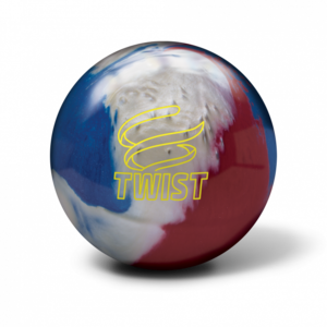 Bowlingbal Brunswick Twist Red/White/Blue