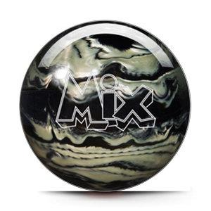 Bowlingbal Storm Mix Black-Silver