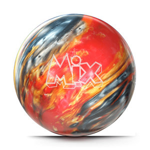 Bowlingbal Storm Mix Red-Silver-Gold