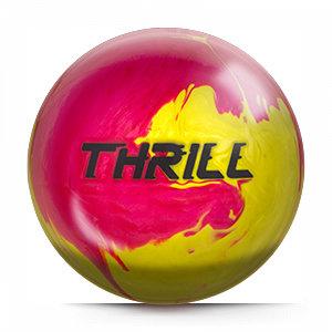 Bowlingbal Motiv Thrill Pink-Yellow
