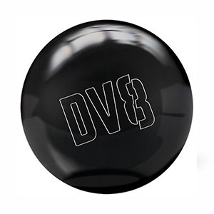 Bowlingbal DV8 Polyester Just Black incl. Draagzak