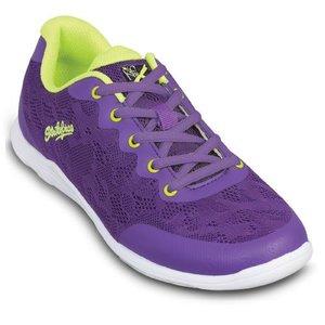 Bowlingschoen KR Strikeforce Lace Purple-Yellow