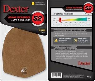 Schoenzolen Dexter S2 Sole Brown Leather (Less Slide)(Oversized)