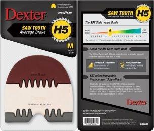 Schoenzolen Dexter H5 Saw Tooth Heel