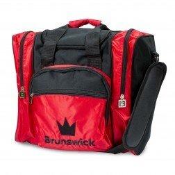 Bowlingtas Brunswick Edge Single Bag Red