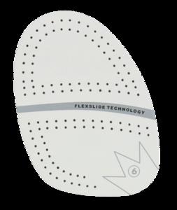 Schoenzolen Brunswick SP-6 White Microfiber