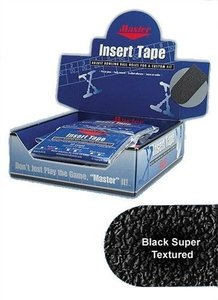 "Tape Master Super Texture Insert Tape 1"" Black"