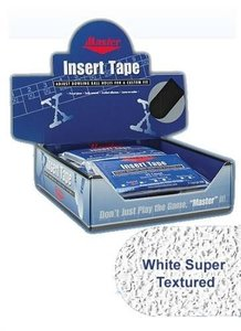"Tape Master Super Texture Insert Tape 1"" White"
