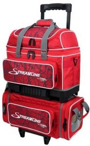 Bowlingtas Storm Streamline 4 Ball Roller Red