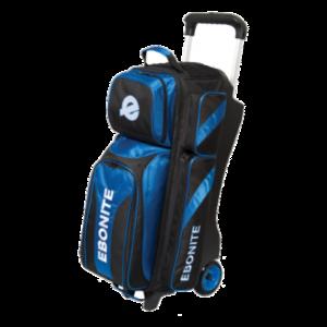 Bowlingtas Ebonite Equinox Triple Roller Black-Blue