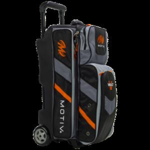 Bowlingtas Motiv Vault 3-Ball Roller Black-orange