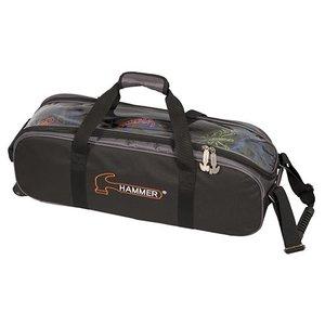 Bowlingtas Hammer Premium Triple Tote Black