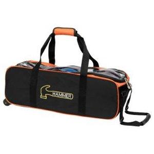 Bowlingtas Hammer Premium Triple Tote Black Orange