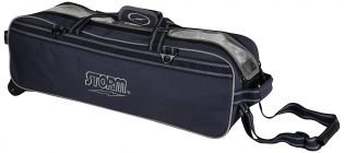 Bowlingtas Storm 3-Ball Tournament Travel Tote Navy