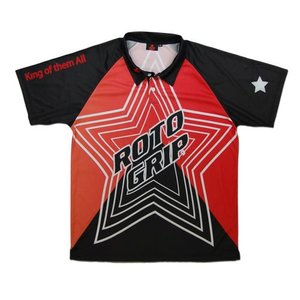 Kleding Roto Grip New Style Black-Red