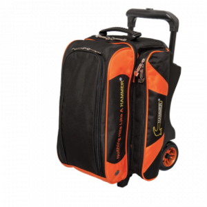 Bowlingtas Hammer Premium Double Roller Black Orange