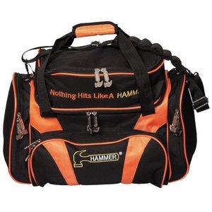 Bowlingtas Hammer Premium Deluxe Double Tote Black-Orange