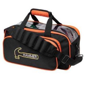 Bowlingtas Hammer Premium 2-Ball Tote Black-Orange