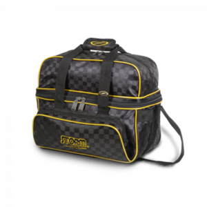 Bowlingtas Storm 2-Ball Deluxe Tote Black Gold