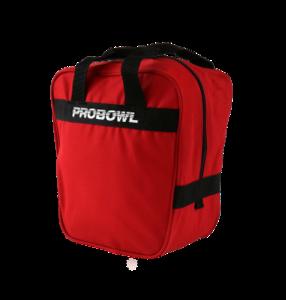 Bowlingtas Pro Bowl Single Bag Basic Red