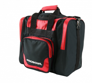 Bowlingtas Pro Bowl Single Bag Deluxe Red