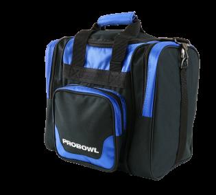 Bowlingtas Pro Bowl Single Bag Deluxe Blue