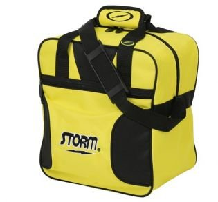 Bowlingtas Storm 1-Ball Solo Tote Black Yellow